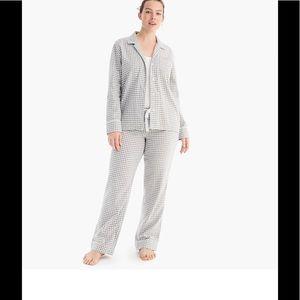 J. Crew Flannel Pajamas NWT